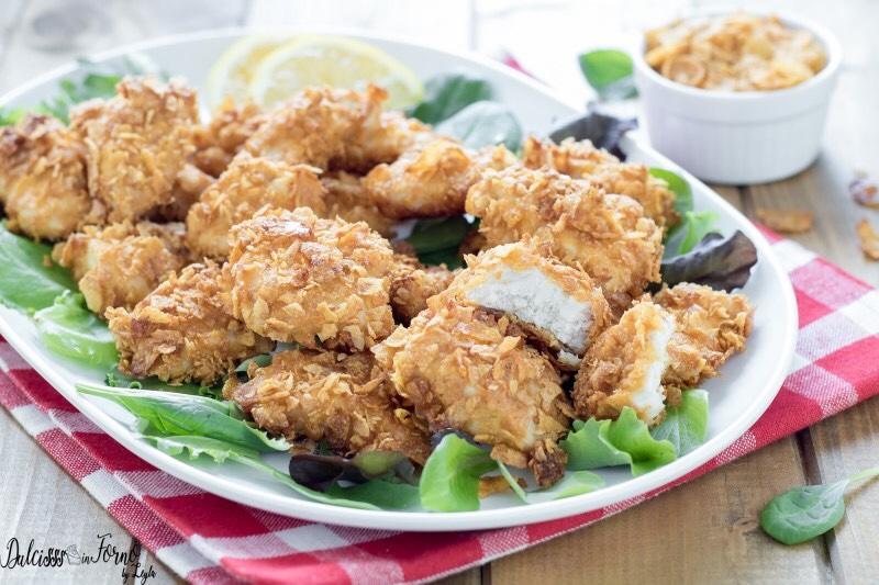 Pepite di pollo fit