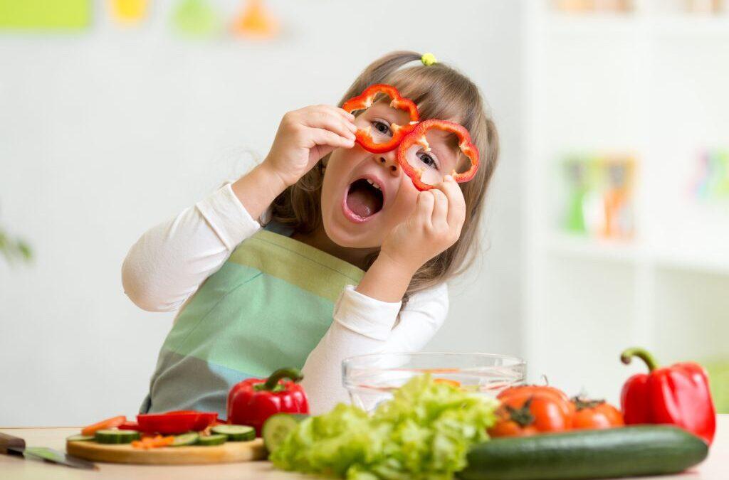Legumi e verdura a merenda? Si può!
